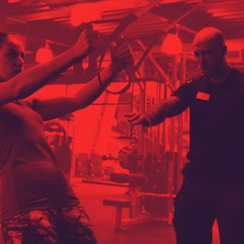 Image showing personal training session