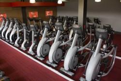 glo gym matrix equipment area