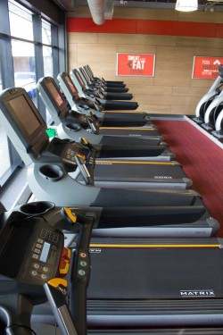 glo gym matrix treadmills