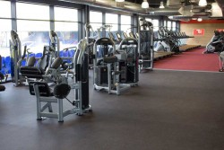 glo gym weights area