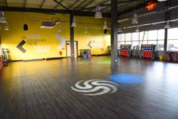 200 sqm + fitness studio at glo gym oldham
