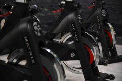 glo gym matrix spin bikes