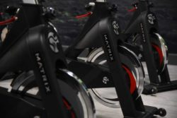 glo gym matrix spin bikes
