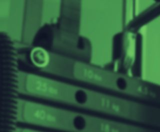 Image showing close up of weights on weight machine
